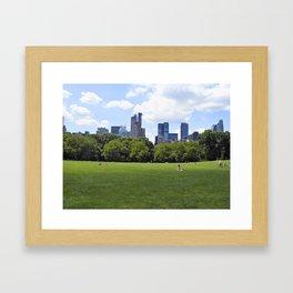Central Park New York Framed Art Print