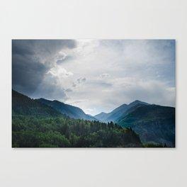 Telluride Mountains Canvas Print