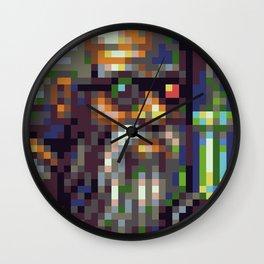 RPG Char Face - Alchemyst Shop - Pixel Art Wall Clock