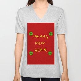 happy new year 12 Unisex V-Neck