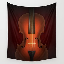 Straordinarius Stradivarius Wall Tapestry