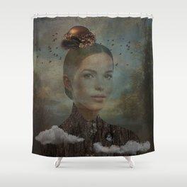 Birder Shower Curtain