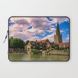 Along the Thames. Laptop Sleeve