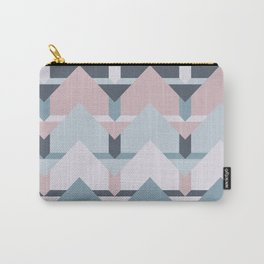 Scandi Waves #society6 #scandi #pattern Carry-All Pouch