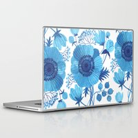 blues Laptop & iPad Skins featuring BLUES by Oana Befort