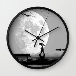 Moonlight Park Wall Clock