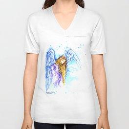 Angel Spirit Guide Unisex V-Neck