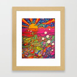 Psychedelic Art Framed Art Print