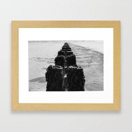 Breakwater 2 Framed Art Print