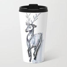 Buck, Watercolor Travel Mug
