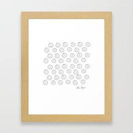 Lucky Pennies Framed Art Print