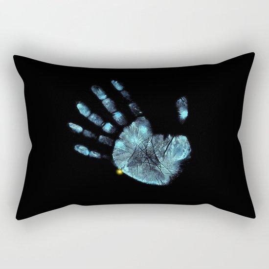 Hand Print Rectangular Pillow
