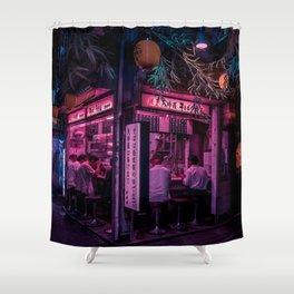 Ramen Corner in Tokyo Shower Curtain