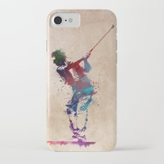 Golf player art 1 Slim Case iPhone 7
