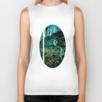 snake Biker Tanks featuring Snake by Terrestre
