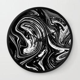 STARRY SKY - BLACK Wall Clock