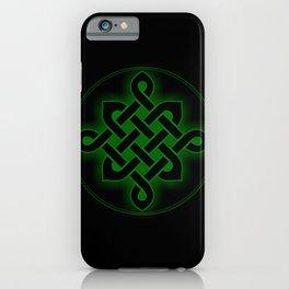 celtic knot symbol iPhone Case