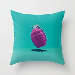 Smart Bomb Throw Pillow