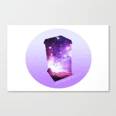 All of time and space - The Tardis Canvas Print