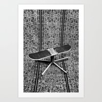 fries Art Prints featuring Fries by AsoMohammadi