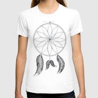 dreamcatcher T-shirts featuring Dreamcatcher by #dancingpenguin