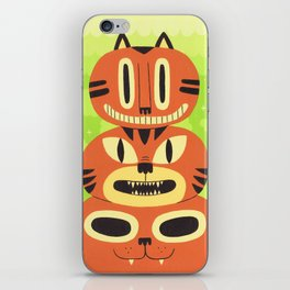 Totem Cat iPhone Skin