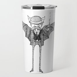 Watson the Bat Travel Mug