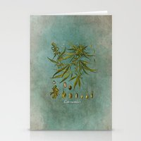 cannabis Stationery Cards featuring Cannabis by jbjart
