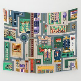 Map of life Wall Tapestry