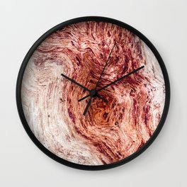 Against the grain Wall Clock