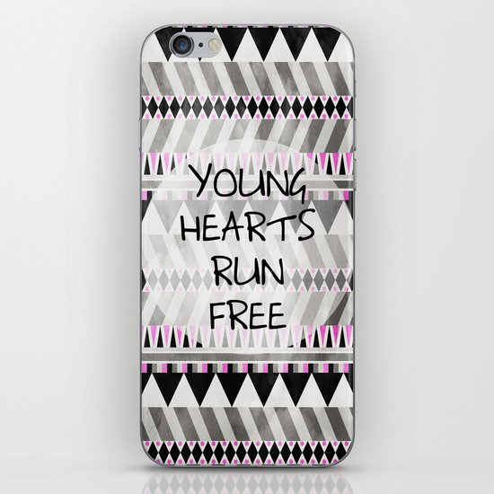 Young Hearts iPhone & iPod Skin