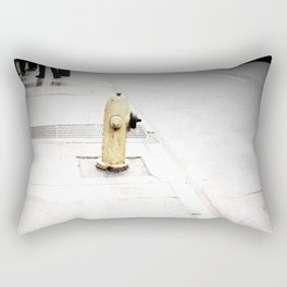 Black & White Fire hydrant 001 Rectangular Pillow