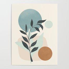 Azzurro Shapes No.53 Poster