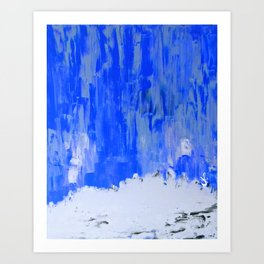 Snow Dreams Art Print
