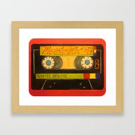 """The Old Mix-Tape"" Framed Art Print"