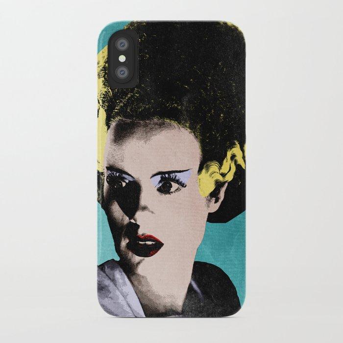 The Beautiful Bride of Frankenstein iPhone Case