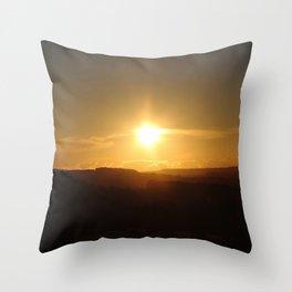 Peak District Throw Pillow