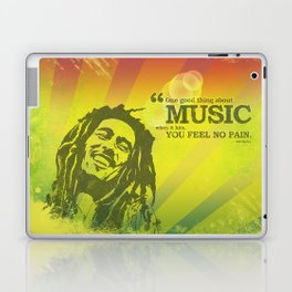 One good thing about music Laptop & iPad Skin