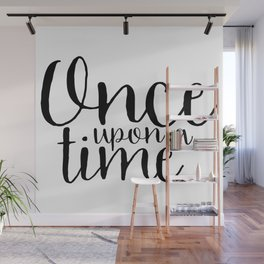 Once Upon a Time Wall Mural