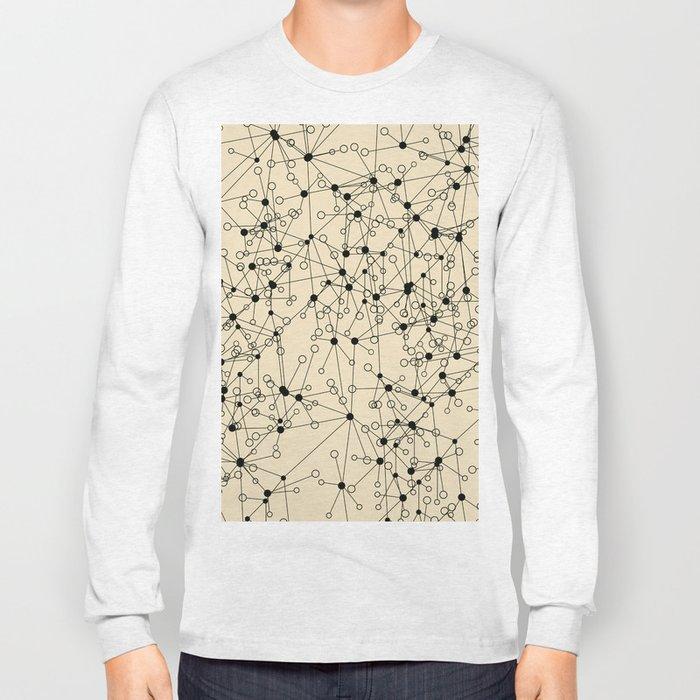 Stars sky map Long Sleeve T-shirt