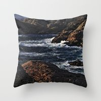 norway Throw Pillows featuring Norway Landscape by Christine baessler