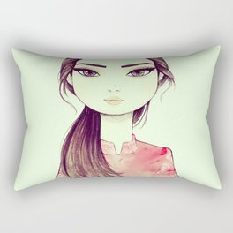 Japan Girl Rectangular Pillow
