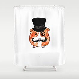 Sir Guinea Pig Shower Curtain
