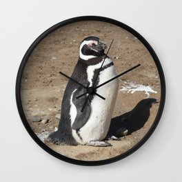 Pinguin Wall Clock