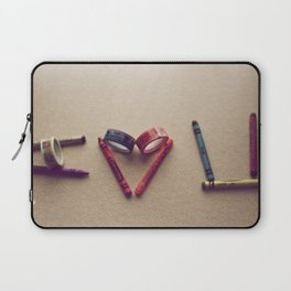 Children Love | I Love You Laptop Sleeve
