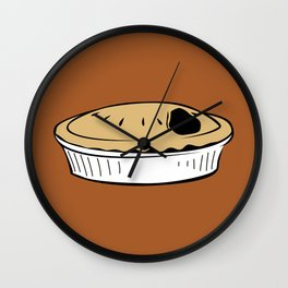 American Pie Wall Clock