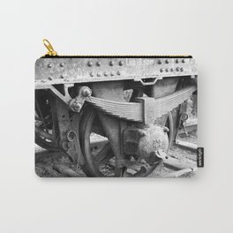 Old train wheel Carry-All Pouch