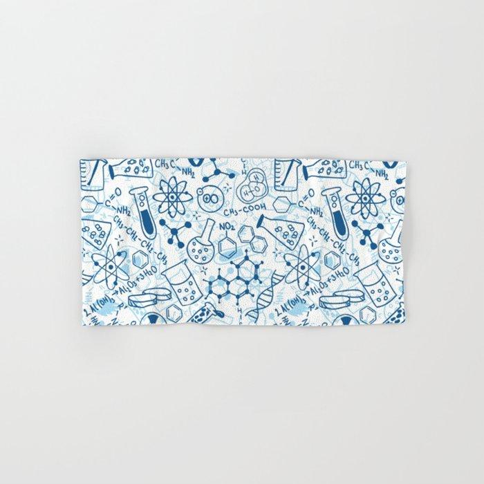 School chemical pattern #2 Hand & Bath Towel