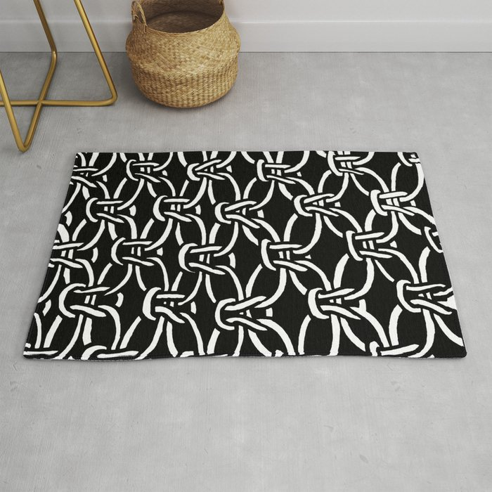 Macrame Rug by projectm | Society6