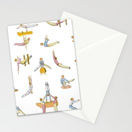 Jaunty Gymnasts Stationery Cards